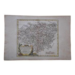 18th C. Antique Map of Germany (Haute Saxe et Basse-Saxe)