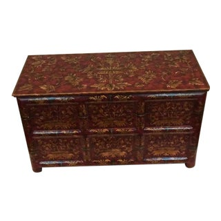 Chinoiserie Red Box