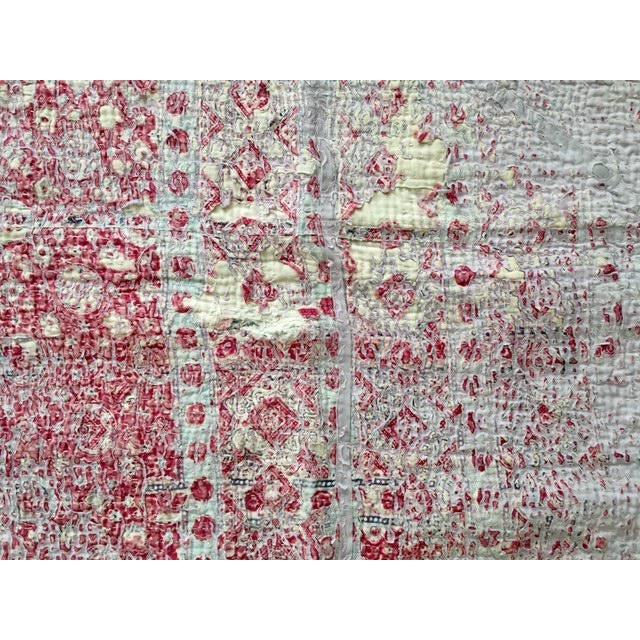 Vintage Handmade Ralli Quilt - Image 7 of 11
