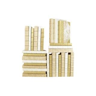 Golden Parchment Books - Set of 30