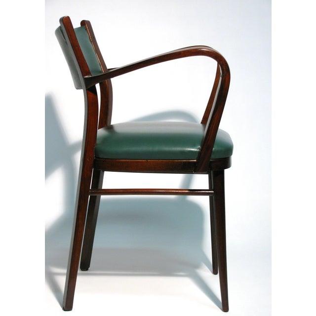 Image of Italian Bentwood Armchair