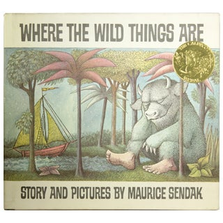 """Where the Wild Things Are"" Signed by Sendak"