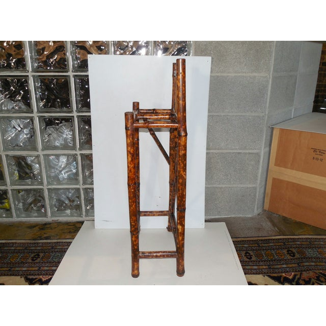 Image of English Arts & Crafts Stick Stand with Tiles