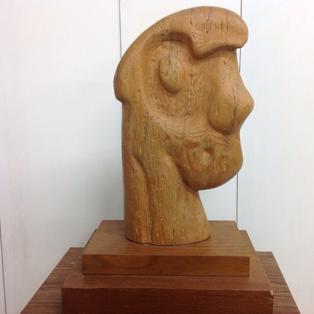 Image of Large Goldstein Sculpture 'Head With Two Faces'