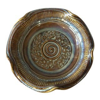 Studio Pottery Decorative Bowl