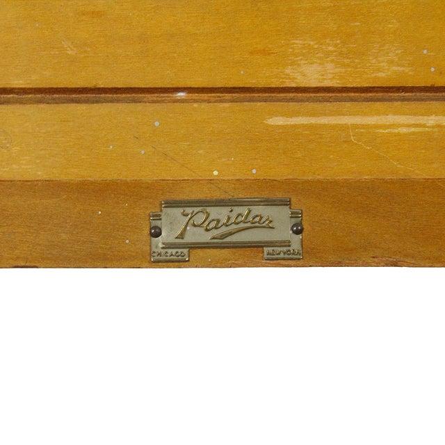Image of 1930s Paidar Barber Shop Sterilizer Table