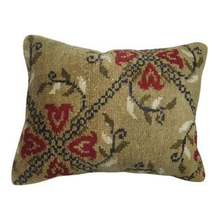 Floral Karabagh Rug Lumbar Pillow