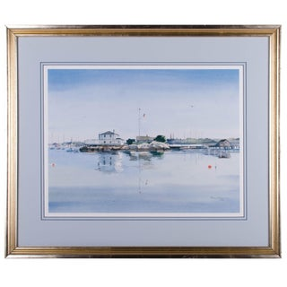 Watercolor Seascape - Richard Grosvenor, Rhode Island Artist