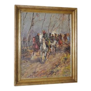 Leonard Winterowski Original Oil Painting c.1919