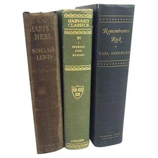 Vintage Hardback Books - Set of 3