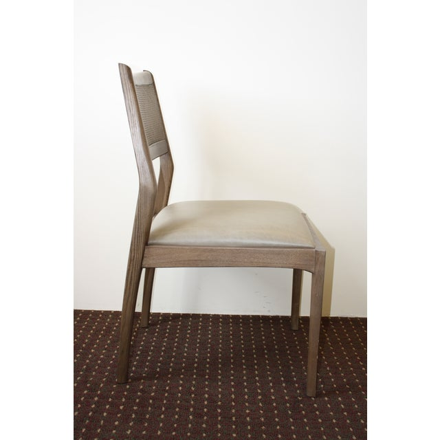 McGuire Fino Side Chair in Gray & Dove - Image 4 of 7