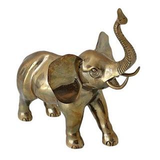 Oversized Brass Elephant