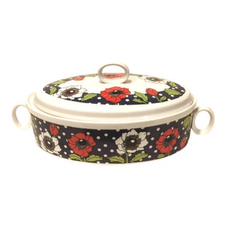 Polka Poppy Georges Briars Covered Casserole
