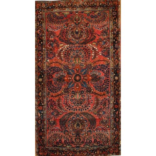 """Pasargad NY Antique Persian Hand-Knotted Sarouk Rug - 2'7"""" x 4'8"""""""