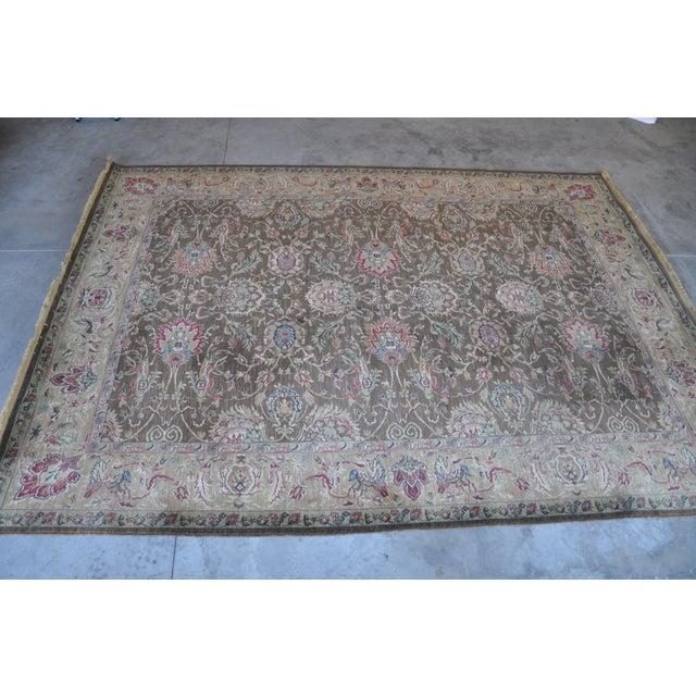 """Nourison New Zealand Wool Area Rug - 9'6"""" x 13'2"""" - Image 10 of 11"""
