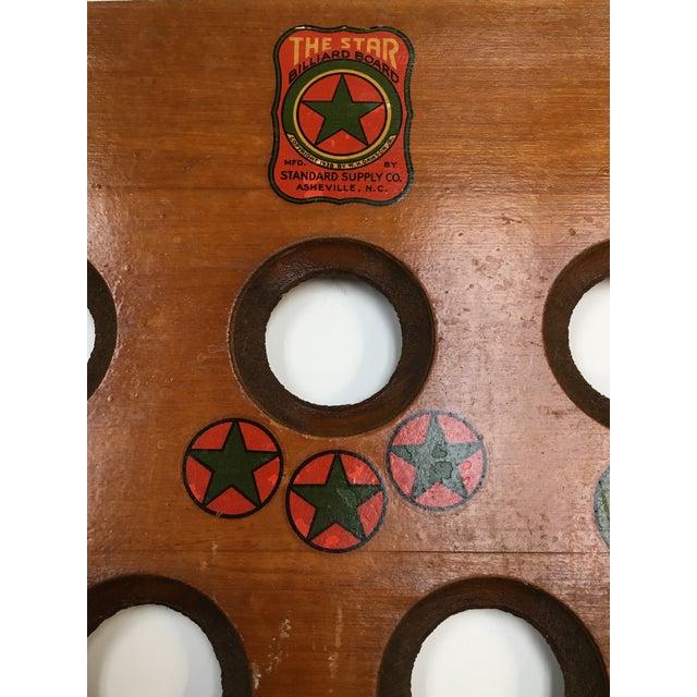 1938 Keeno Star Reversible Gaming Board - Image 4 of 10