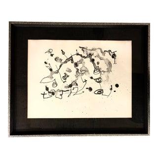Joan Miro Noir Lithograph Serie II 9/30