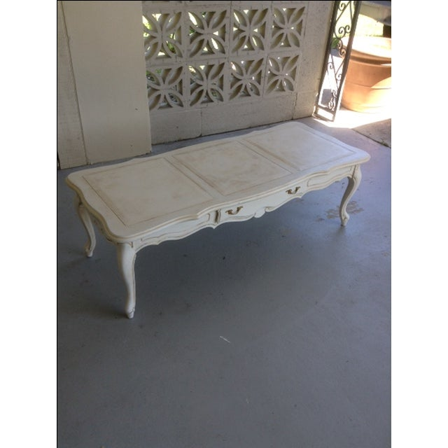 Vintage Shabby Chic Coffee Table - Image 2 of 3