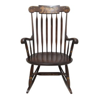 Hitchcock Plank Bottom Rocker Chair
