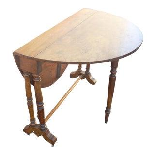 Vintage Gate Leg-Drop Leaf Table
