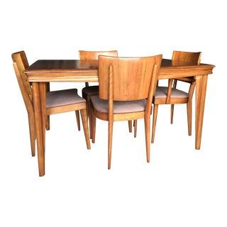 Heywood Wakefield Mid-Century Maple Dining Set