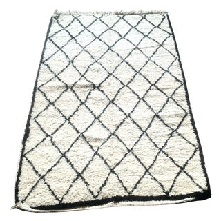 """Ismail New Beni Ourain Rug - 4'1"""" x 6'11"""""""