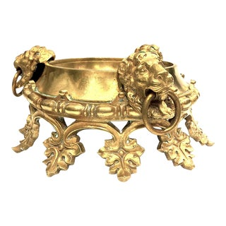 Brass Decorative Centerpiece Pedestal Bowl