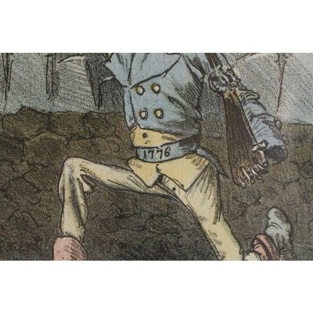1888 Puck Political Cartoon Chromoliths - A Pair - Image 5 of 9
