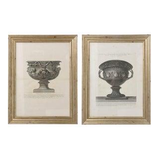 Set of Two Italian Copper-Plate Engravings by Giovanni Battista Piranesi