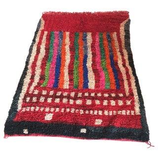Vibrant Berber Moroccan Rug - 5' x 7'9''