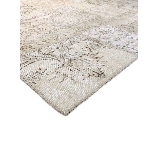 """Pasargad Patchwork Collection Rug- 5' 1"""" X 8' - Image 2 of 3"""