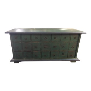 Chinese Style Apothecary 21 Drawer Chest