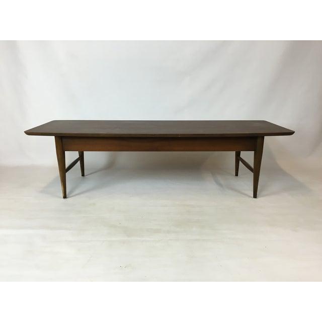 Lane Mid-Century Surfboard Coffee Table - Image 3 of 7