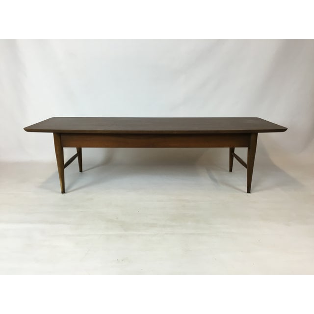 Image of Lane Mid-Century Surfboard Coffee Table