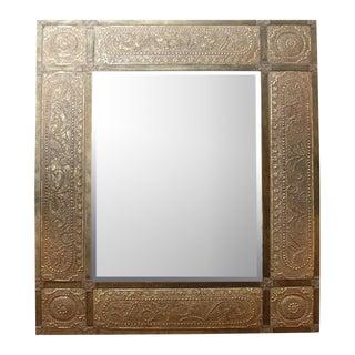 Moroccan Metal Mirror