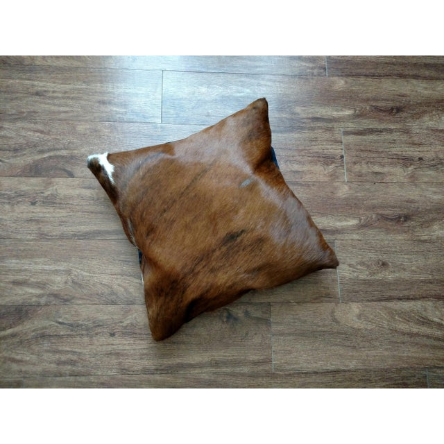 Gambrell Renard Brown Brindle Cowhide Pillow - Image 2 of 3