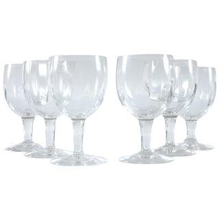Petite Rippled Sherry Glasses - Set of 6
