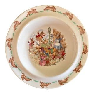 Royal Doulton Bone China Bunny Dish
