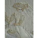 """Image of """"The Run-Away Bride"""" Mixed Media Collage"""