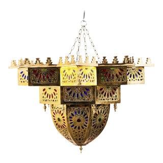Fez Golden Star Lamp