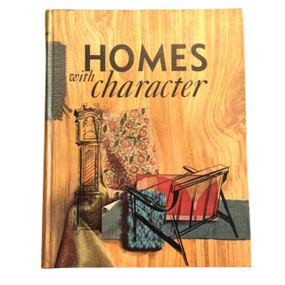 1962 Vintage Mid Century Homes With Character Decorating Book
