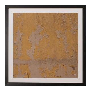 Sarreid Ltd. Yellow Peeling Paint Giclee Print