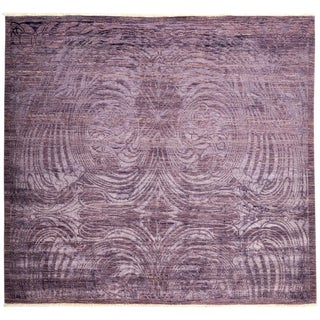 "Vibrance, Hand Knotted Area Rug - 7'6"" X 8'1"""