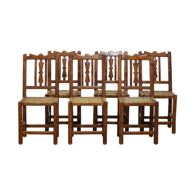 Vintage Argentinian Dining Chairs - Set of 6 - Image 1 of 5