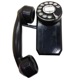 Black AE SpaceMaker Telephone