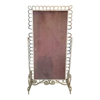 French Metal Victorian Mirror Frame