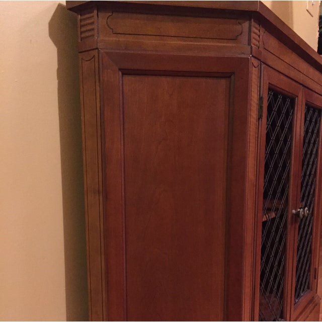 Image of Vintage Mid Century Small Entry Cabinet