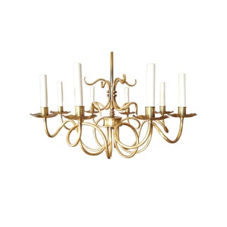 Grag Studio Californian Handcrafted Brass Chandelier Scandinavian Design