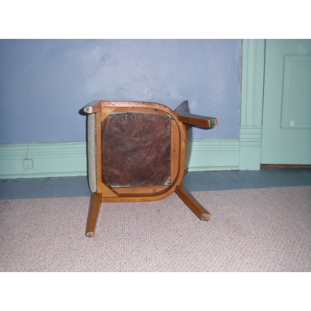 Heywood Wakefield Keyhole Desk & Chair - Image 11 of 11