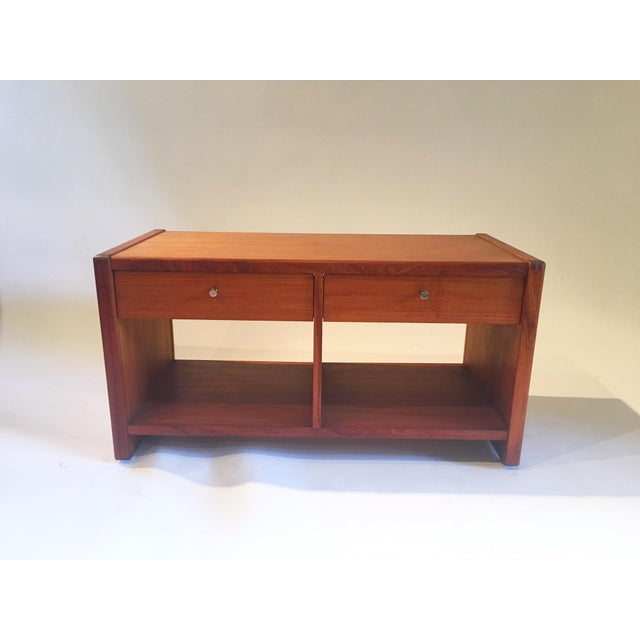 Image of Mid-Century 2 Drawer Cabinet
